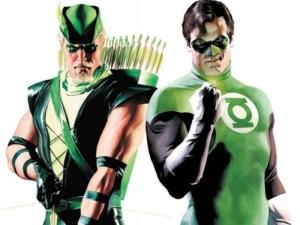 Oliver Queen & Hal Jordan