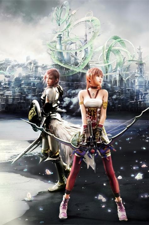 Final Fantasy XIII-2 - Lighting & Serah