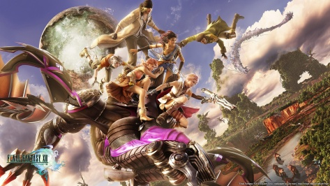 Final Fantasy XIII - Party All 3