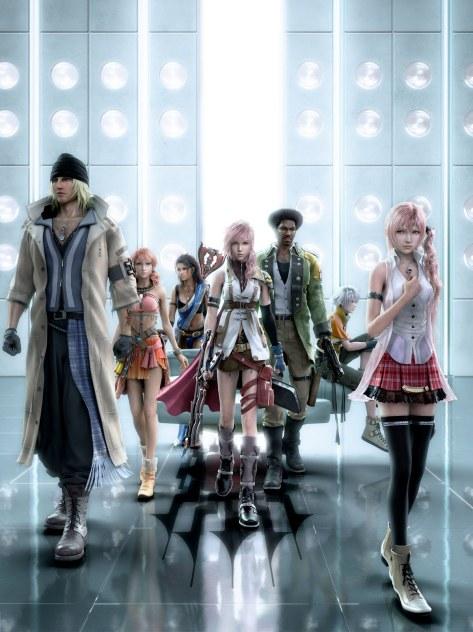 Final Fantasy XIII - Personagens