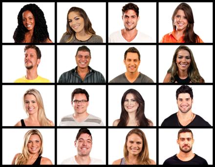 Participantes BBB 13