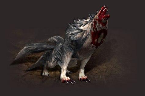 Lobo de duas caudas