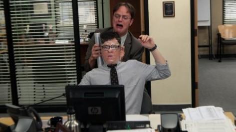 The Office 9x13 - Clark e Dwight