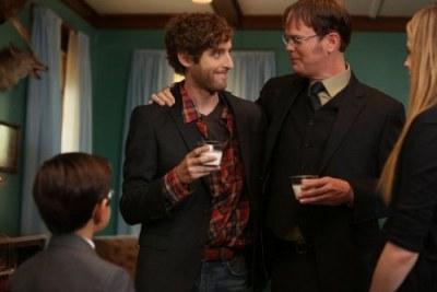 Dwight e o irmão