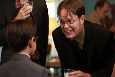 Dwight e o sobrinho