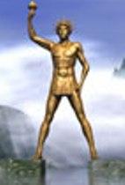 Estátua de ouro