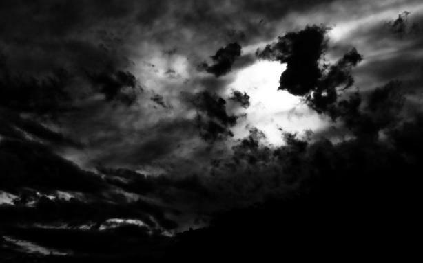 Céu negro