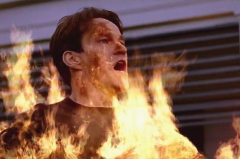 Bill em chamas