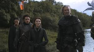 Catelyn, Robb e os tully