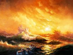Mar de chamas