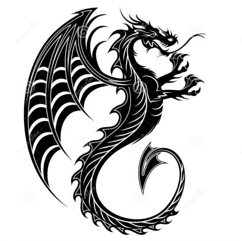 http://www.dreamstime.com/royalty-free-stock-photos-dragon-tattoo-symbol-2012-image22502148