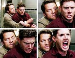 Cas e Dean